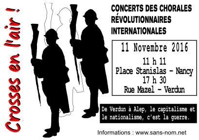 Centenaire de l'ignominie: 11 Novembre 1916 ~ 11 Novembre 2016… Verdun et la der des der qui jamais ne le fut alors… CROSSES EN L'AIR ! | Resistance71 Blog